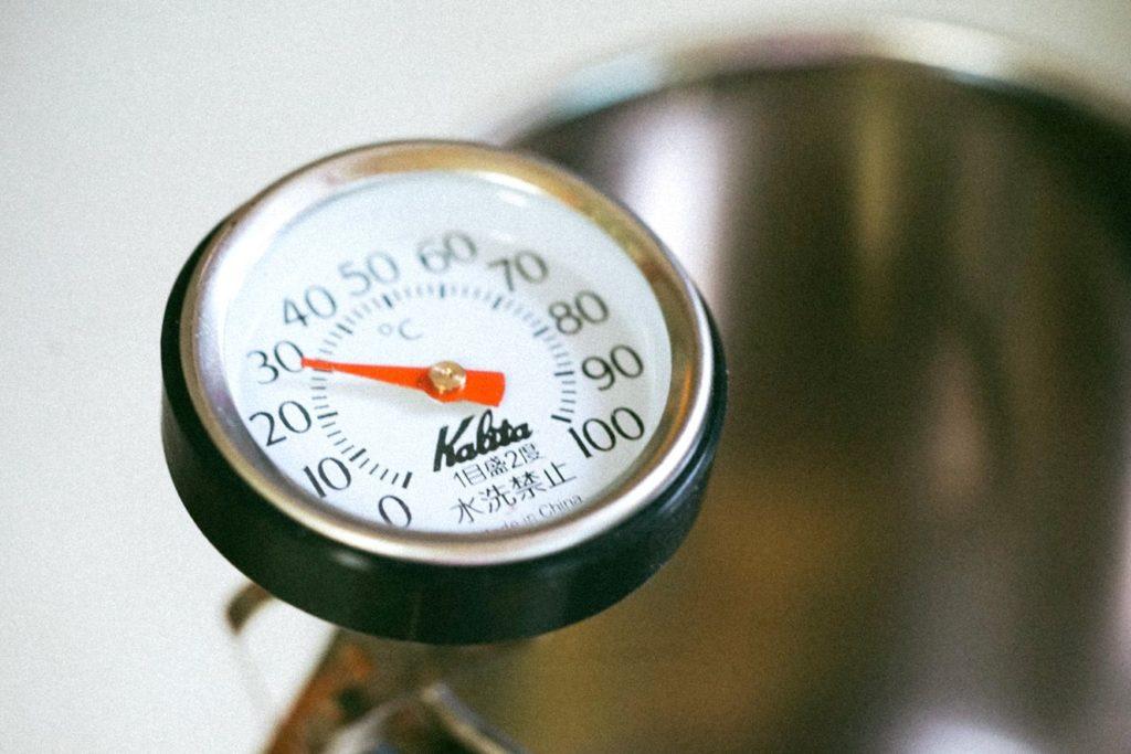 Kernthermometer voor de barbecue