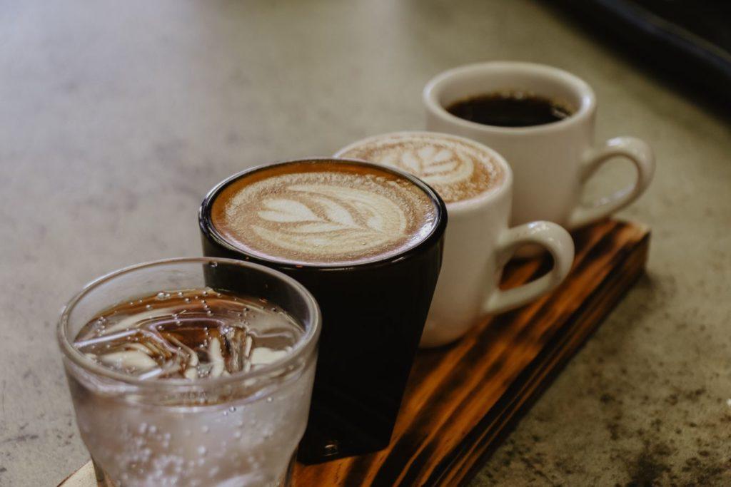 heerlijke koffie zetten